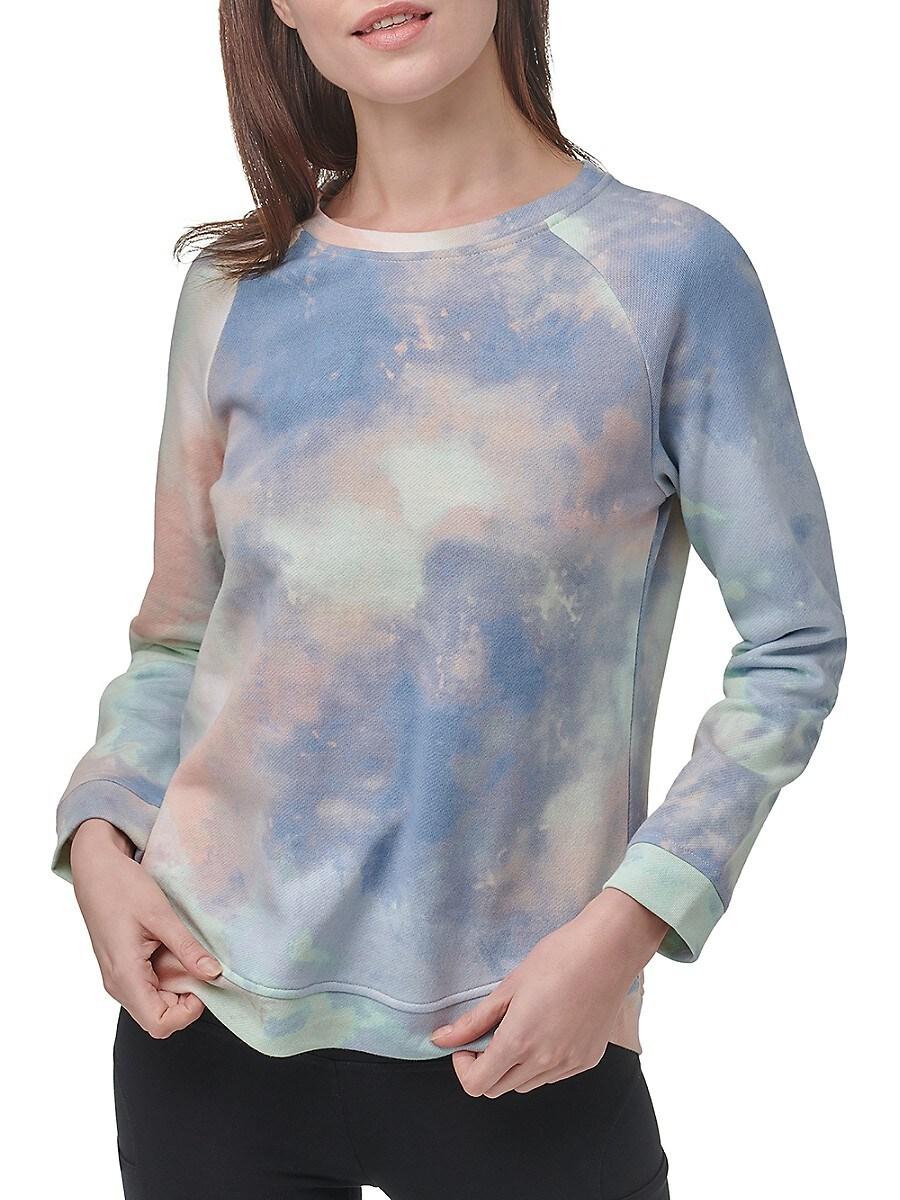 Women's Printed French Terry Sweatshirt