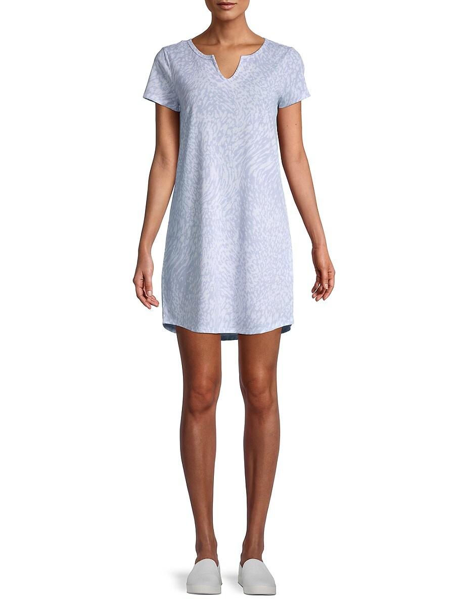 Women's Printed T-Shirt Dress