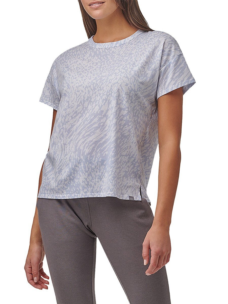 Women's Printed Boxy T-Shirt