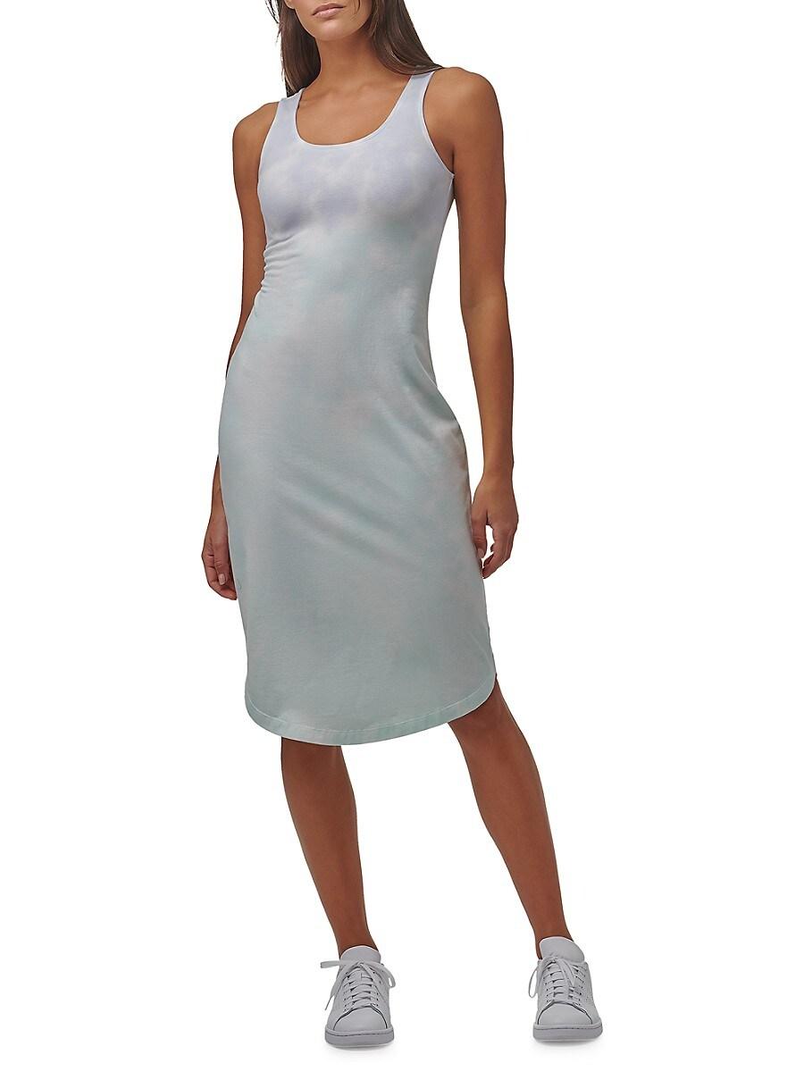 Women's Ombre Tie-Dye Tank Dress
