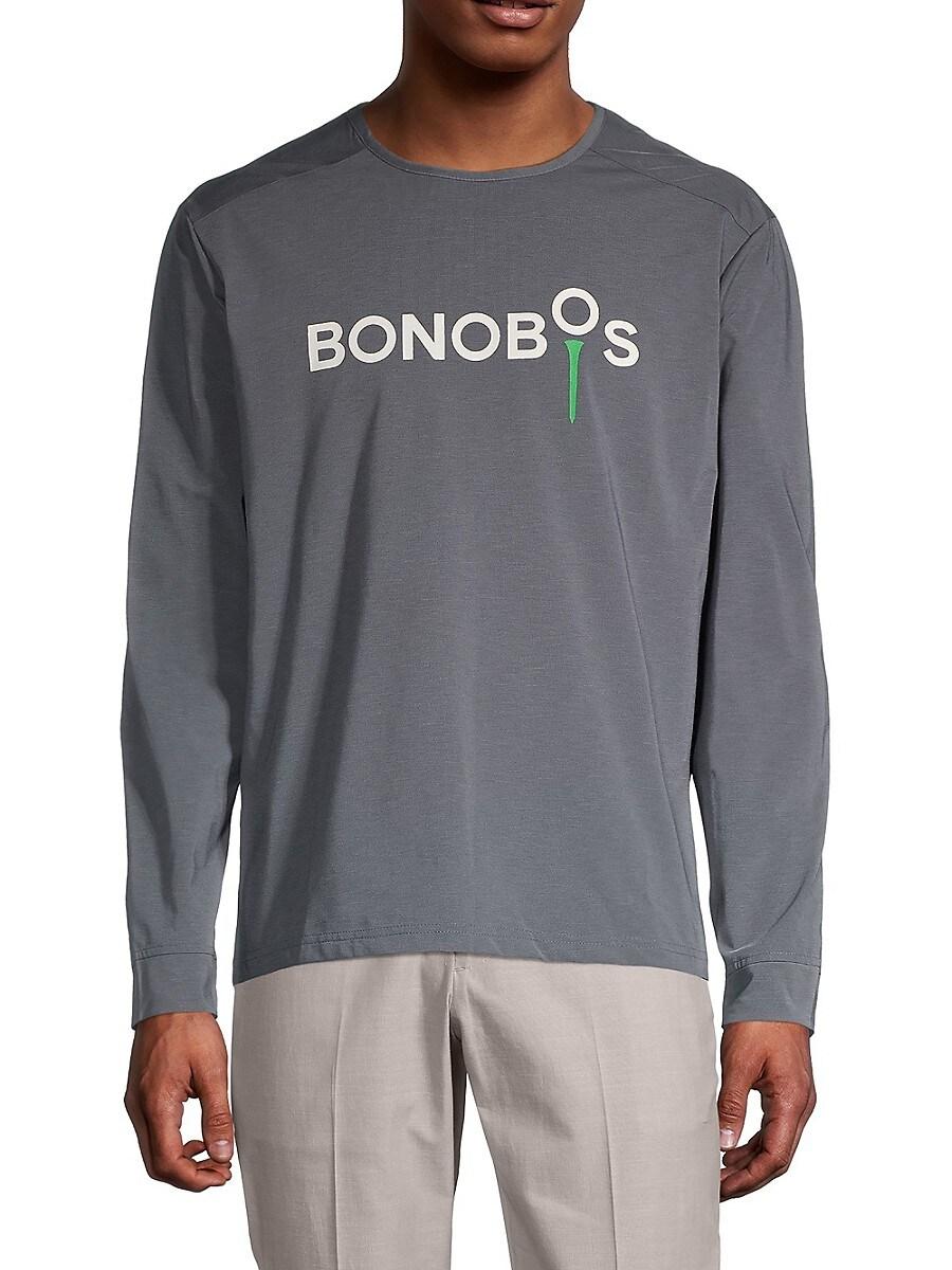 Men's Logo Tech Long-Sleeve T-Shirt