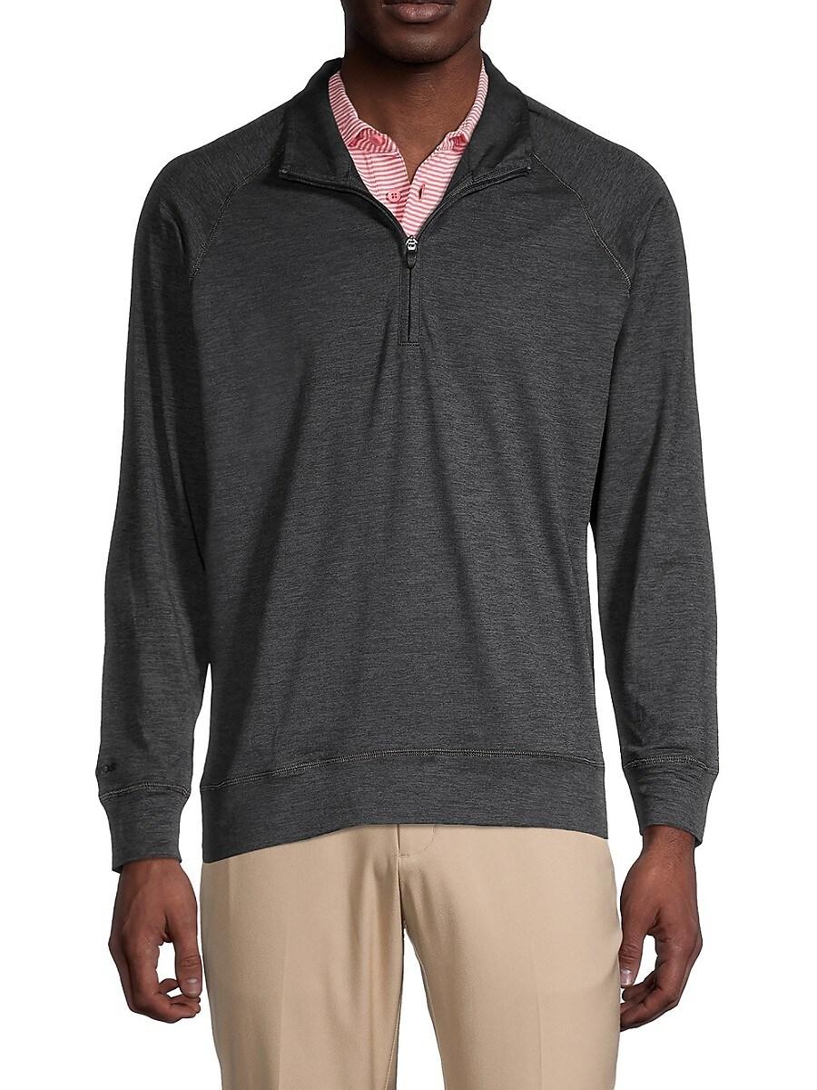 Men's Half-Zip Golf Sweater