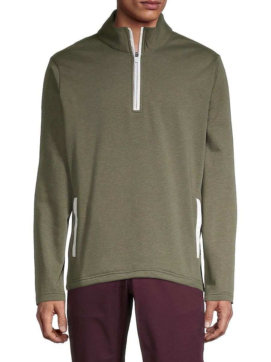 Men's Fleece Half-Zip Jacket