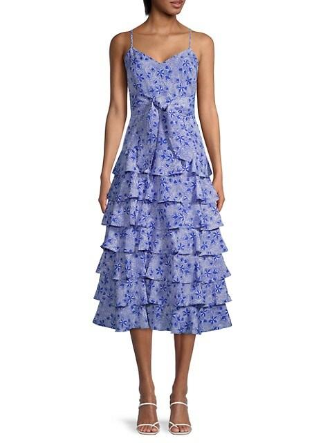 Ariella Printed Dress