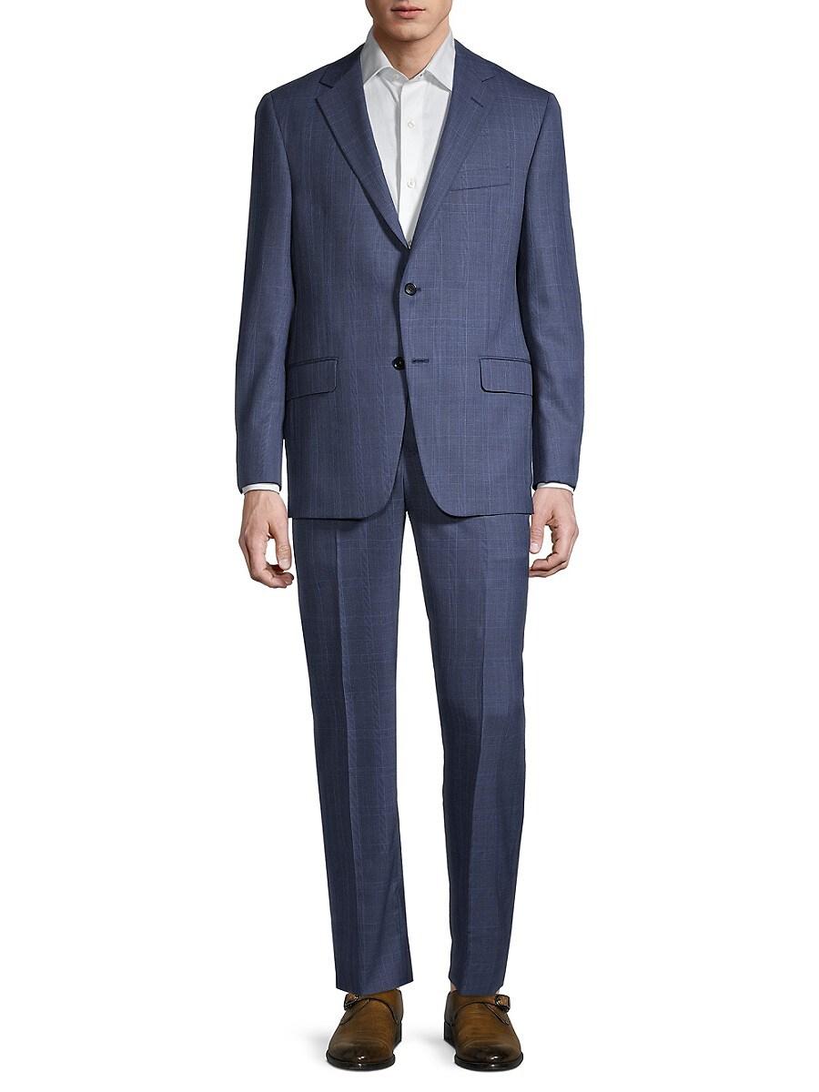 Men's Milburn IIM Check Wool Suit