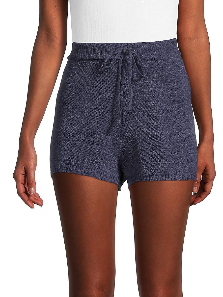 Women's Textured Knit Shorts