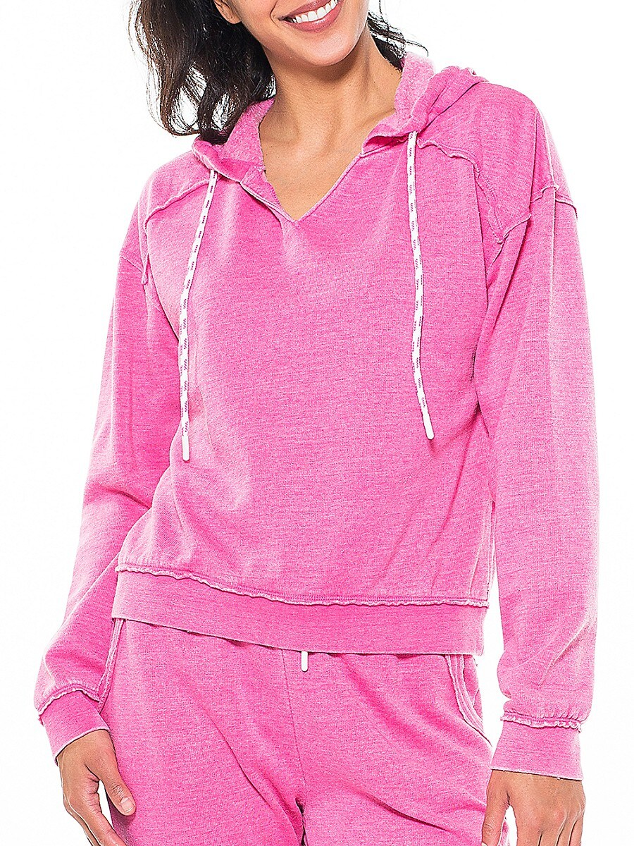 Women's Pullover Hoodie Tech Drawcord
