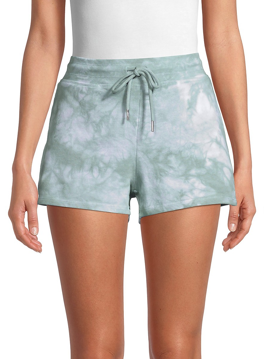 Women's Tie-Dyed Shorts