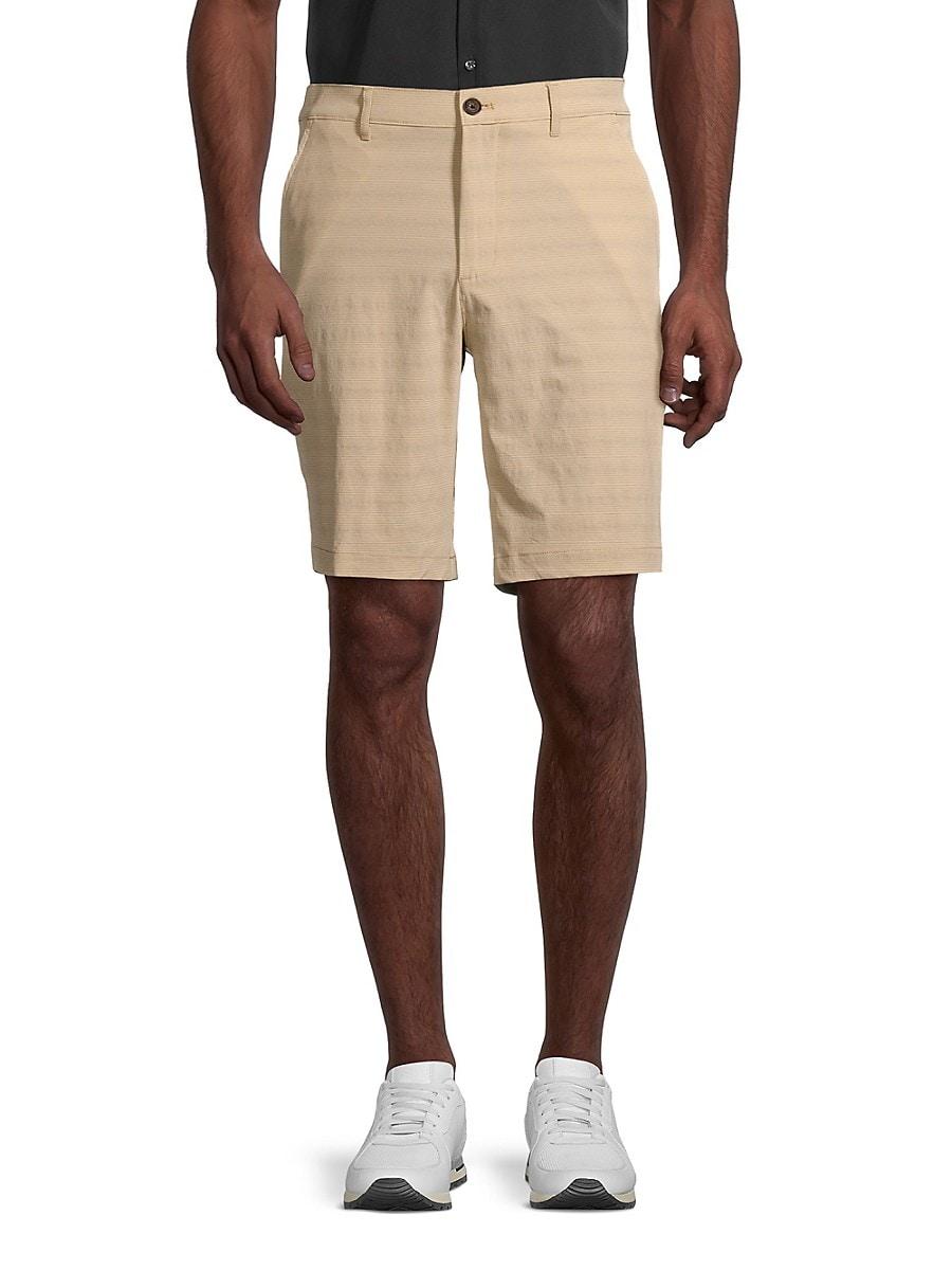 Men's Performance Flat-Front Shorts