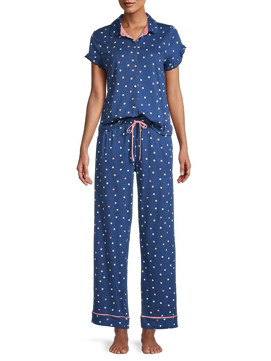Women's 2-Piece Print Pajama Set