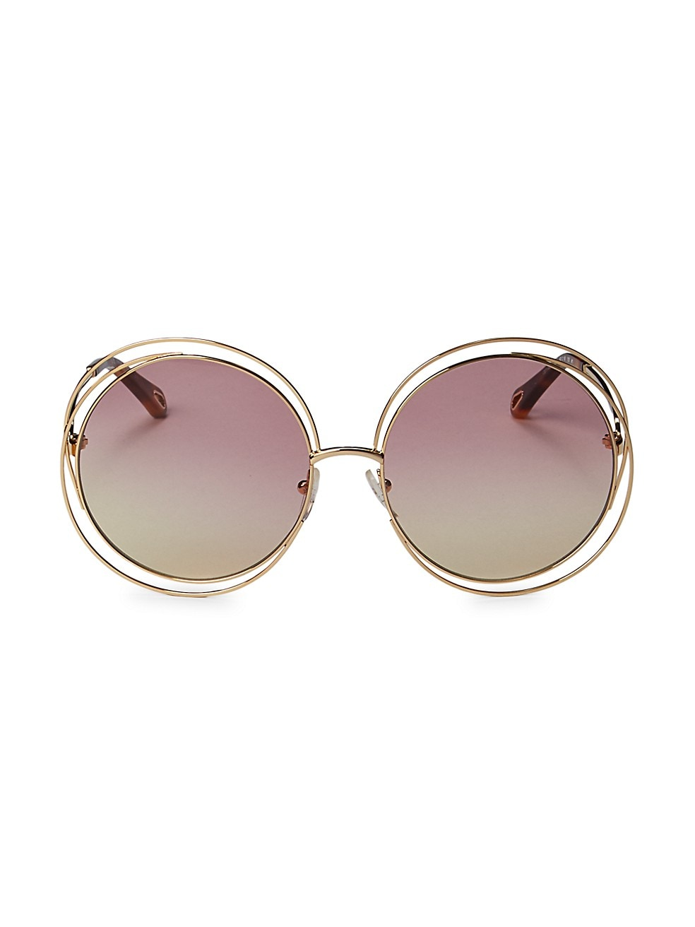 Chloé 58MM Round Sunglasses