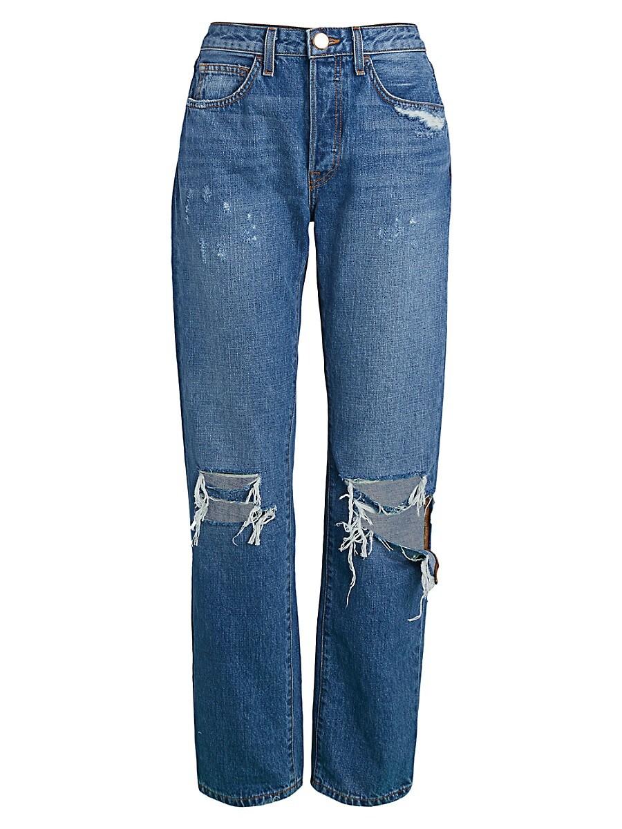 Women's Boyfriend Ripped Jeans
