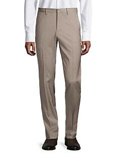 띠어리 Theory Mayer Wool-Blend Pants,STONE