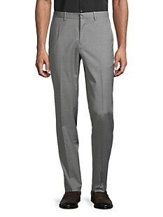 띠어리 Theory Mayer Wool-Blend Pants,GREY