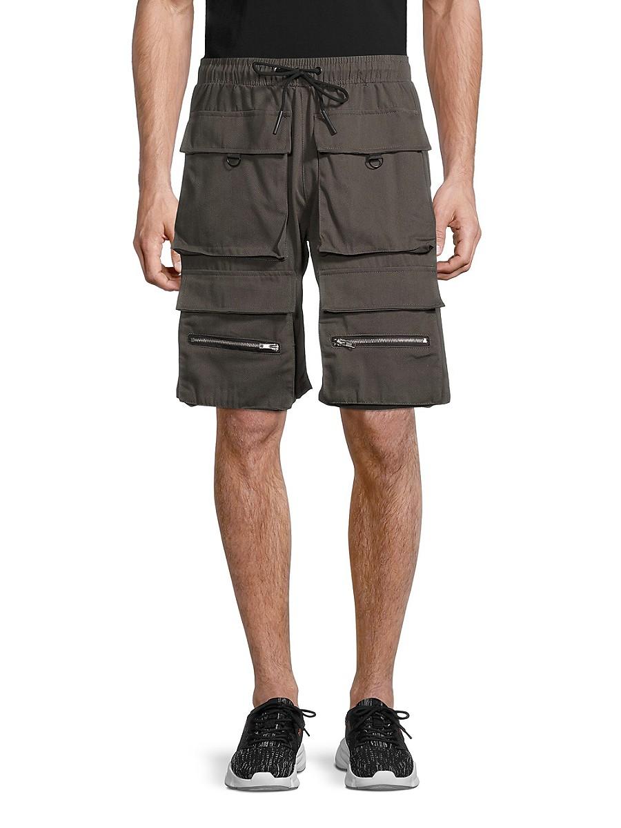 Men's Cargo Twill Shorts
