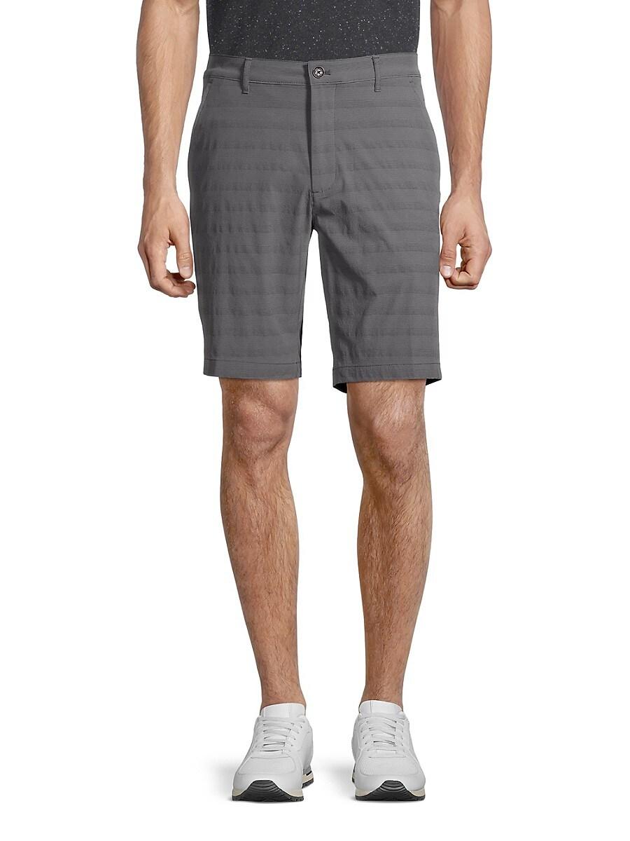 Men's Striped Performance Shorts