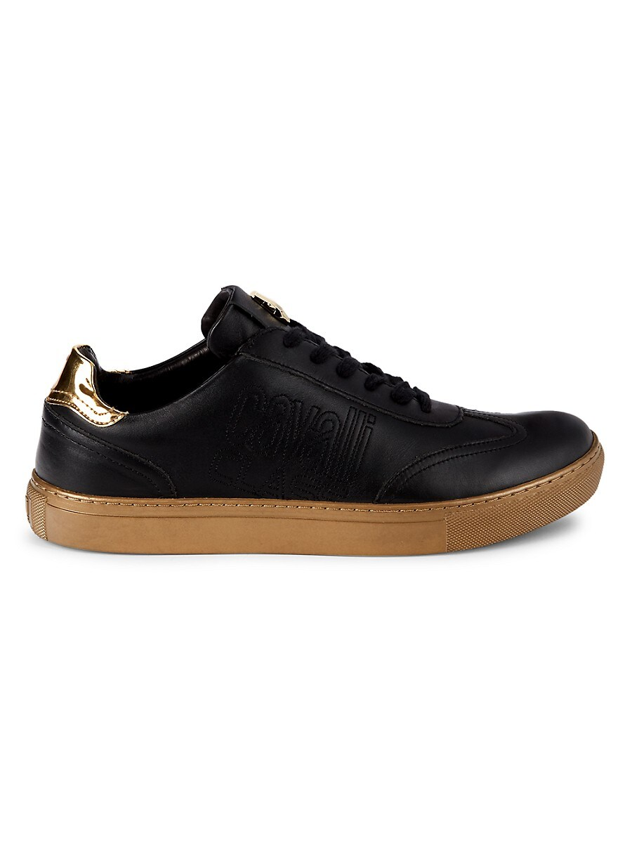 Men's Logo Lace-Up Sneakers