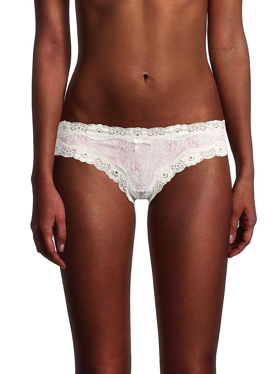 Women's Printed Lace Bikini Panty