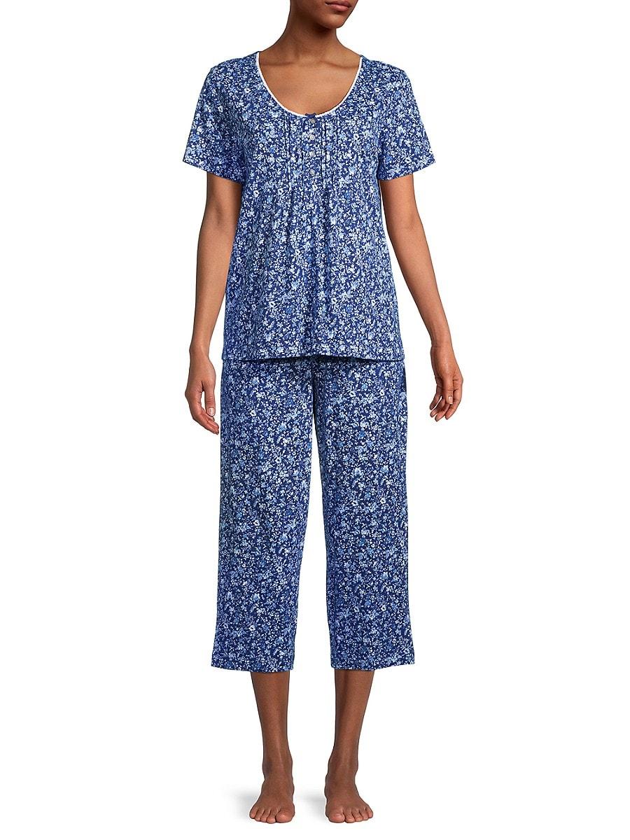 Women's 2-Piece Capri Pajama Set