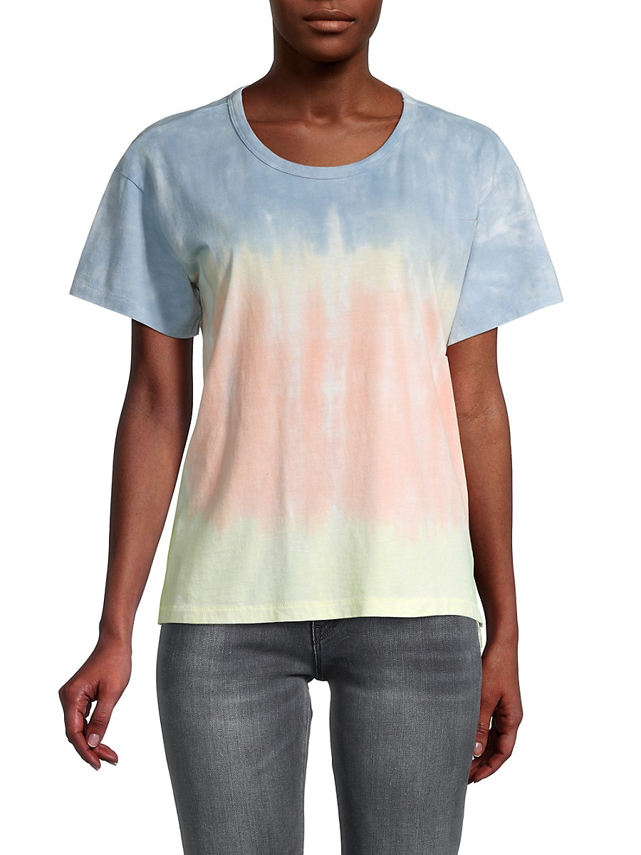 Women's Rainbow Tie-Dye T-Shirt