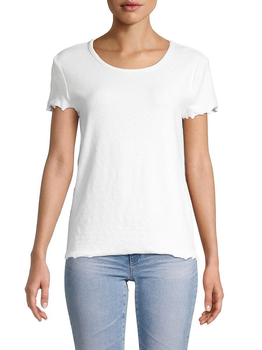 Women's Lettuce-Trim T-Shirt