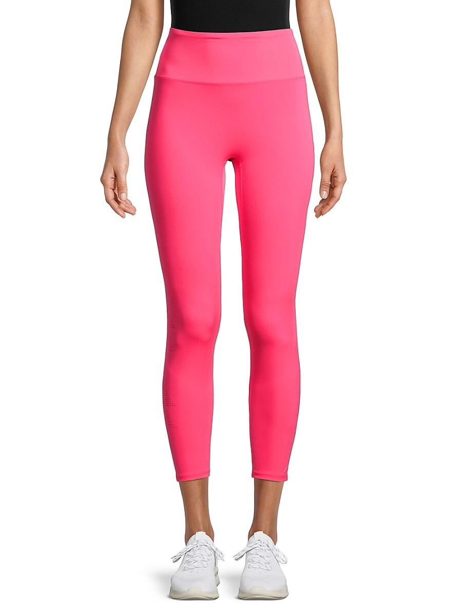 Women's Laser-Perforated Leggings