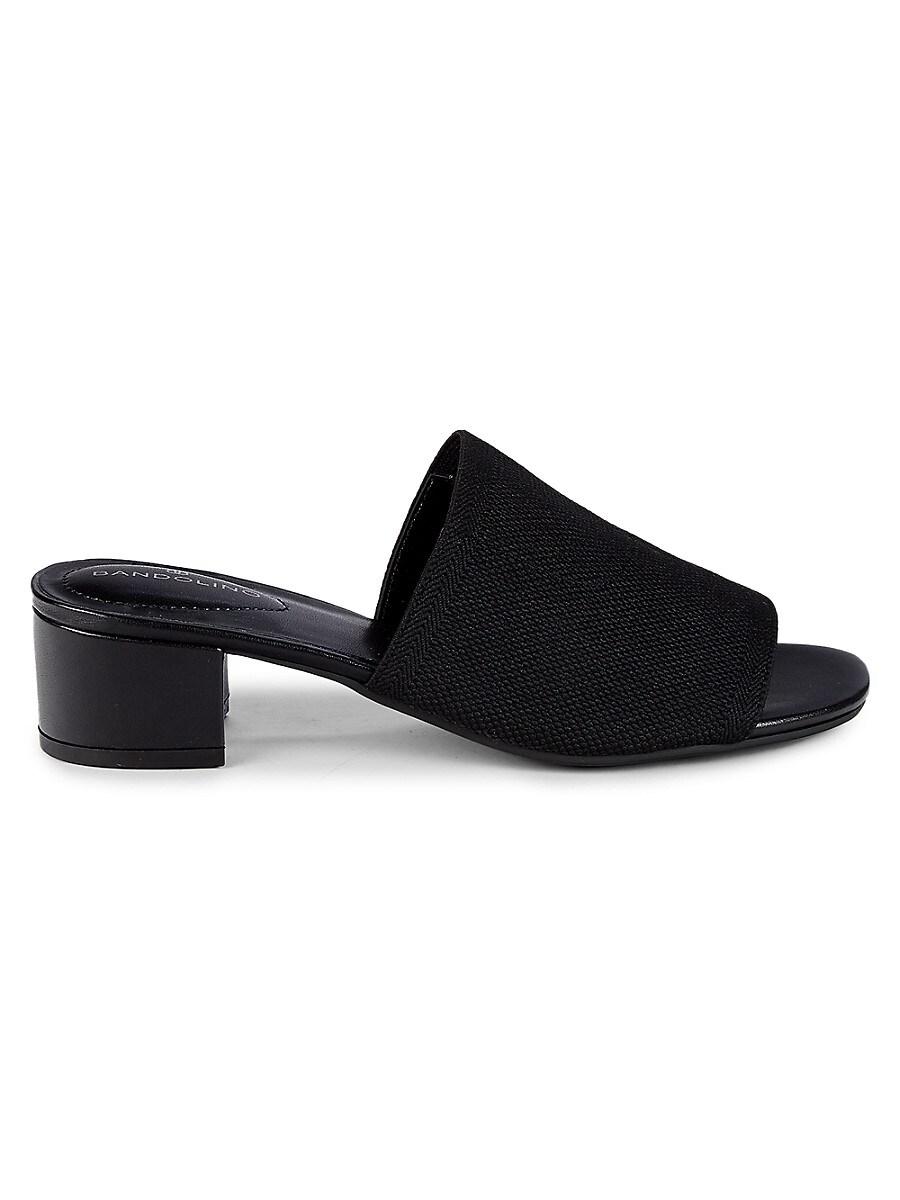 Women's Woven Band Open-Toe Sandals