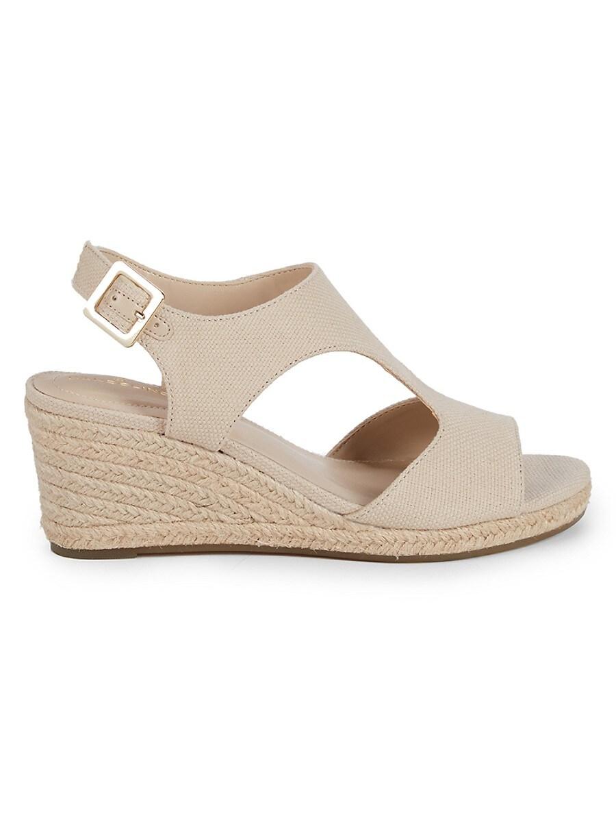 Women's Textured Wedge Sandals