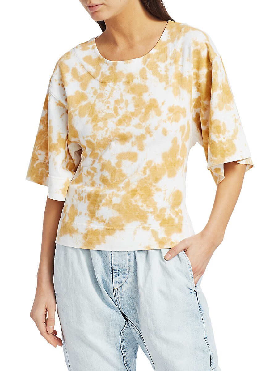 Women's Tie-Dye Batwing T-Shirt