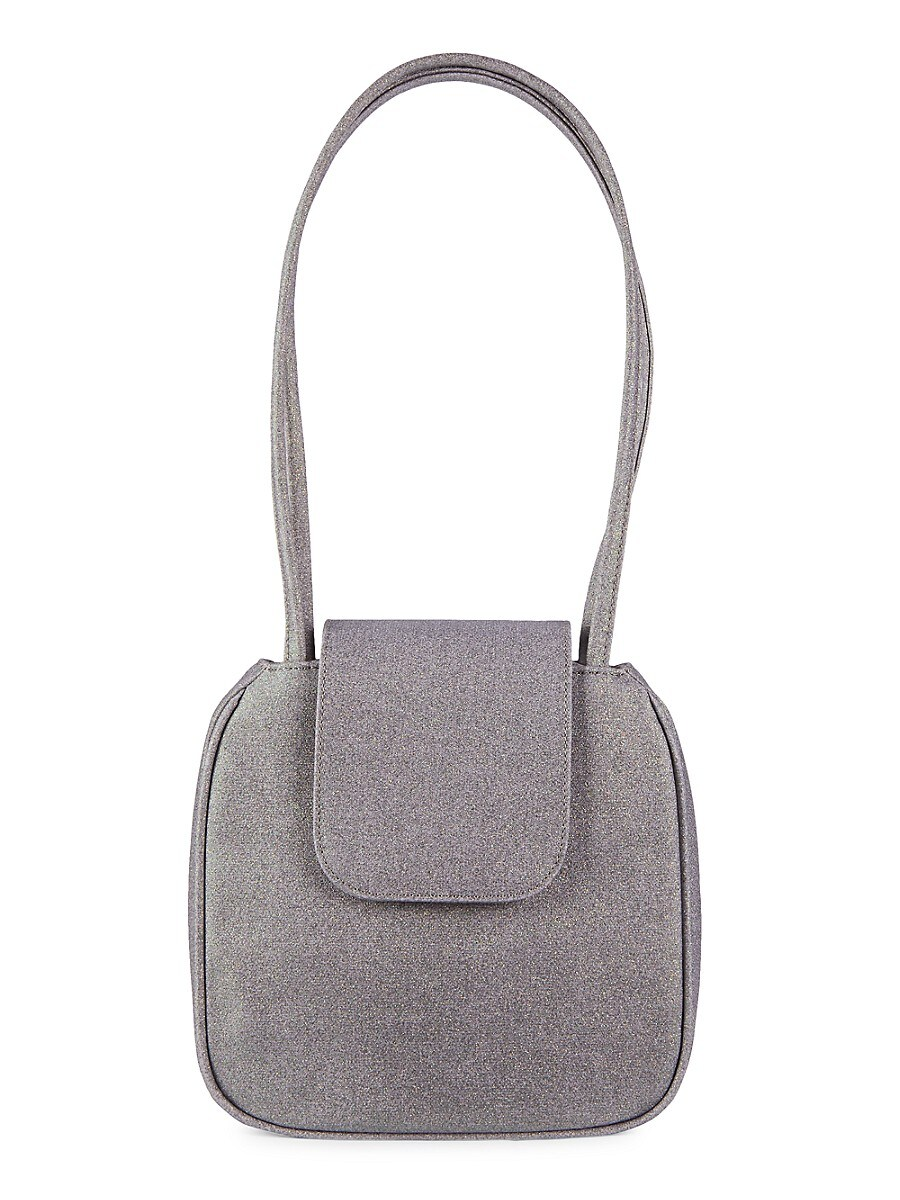 For The Ages Women's Yoko Glitter Canvas Tote - Galaxy