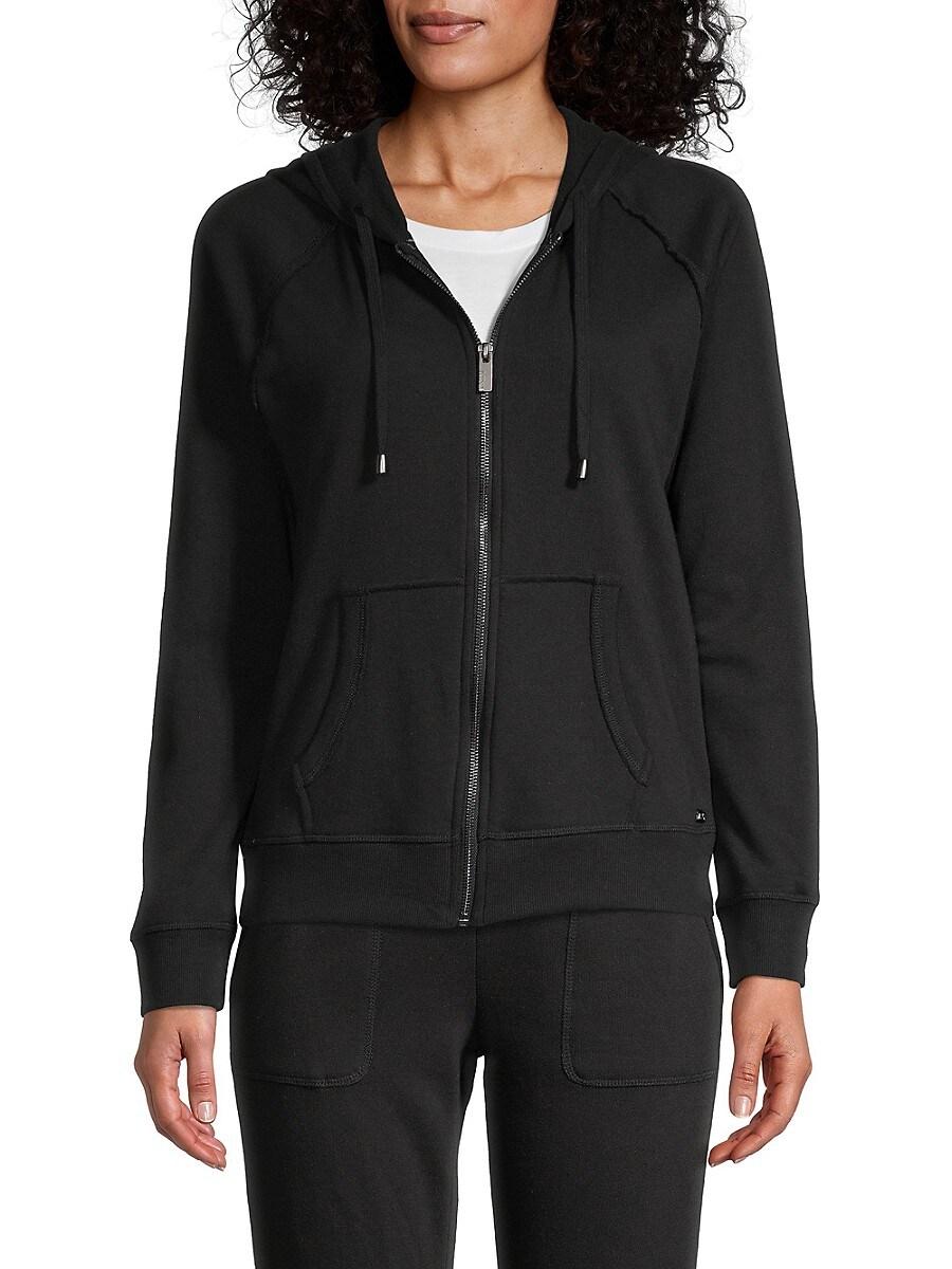 Women's Zip Raglan-Sleeve Hoodie
