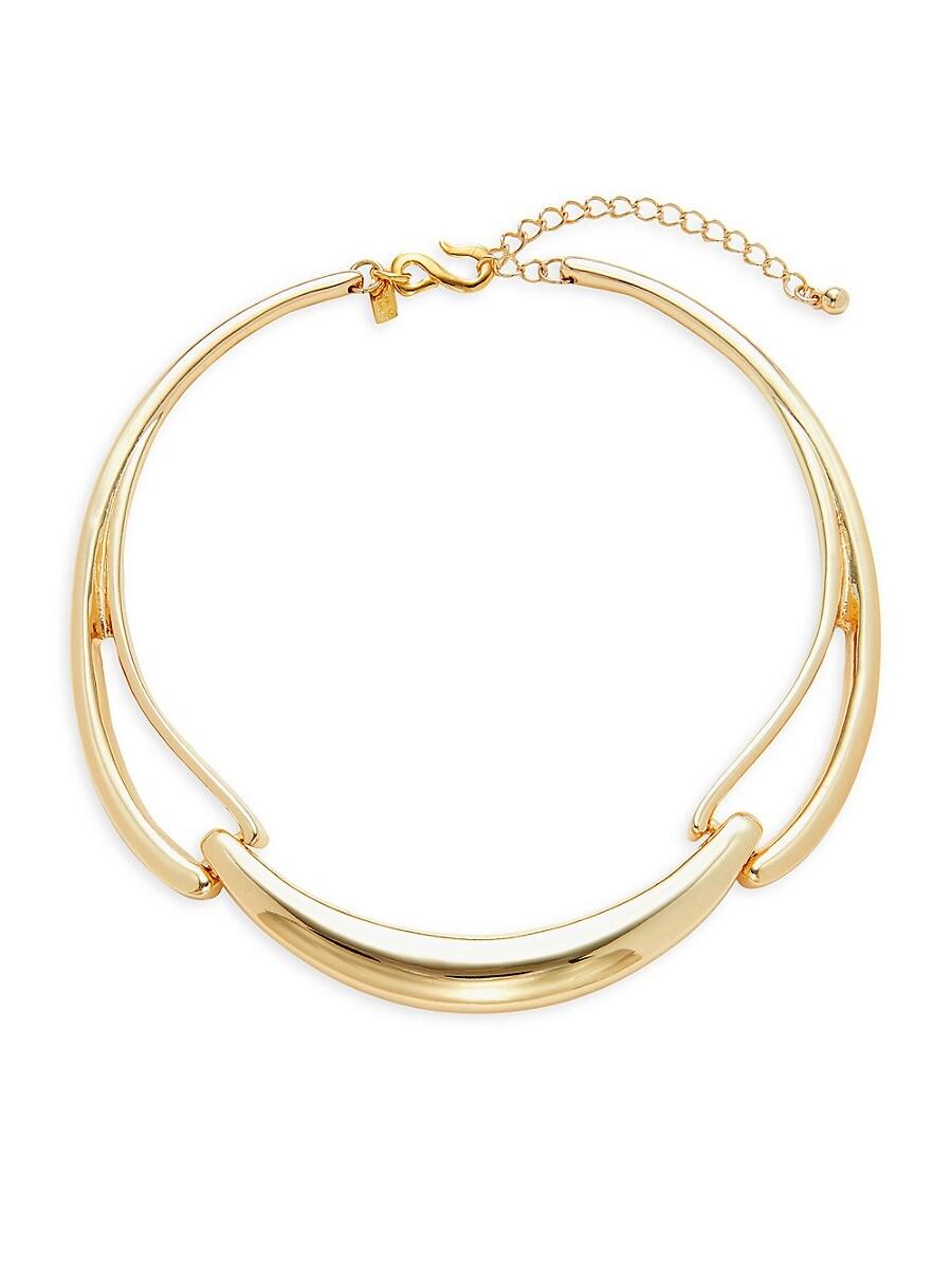 Women's 18K Goldplated Choker Necklace