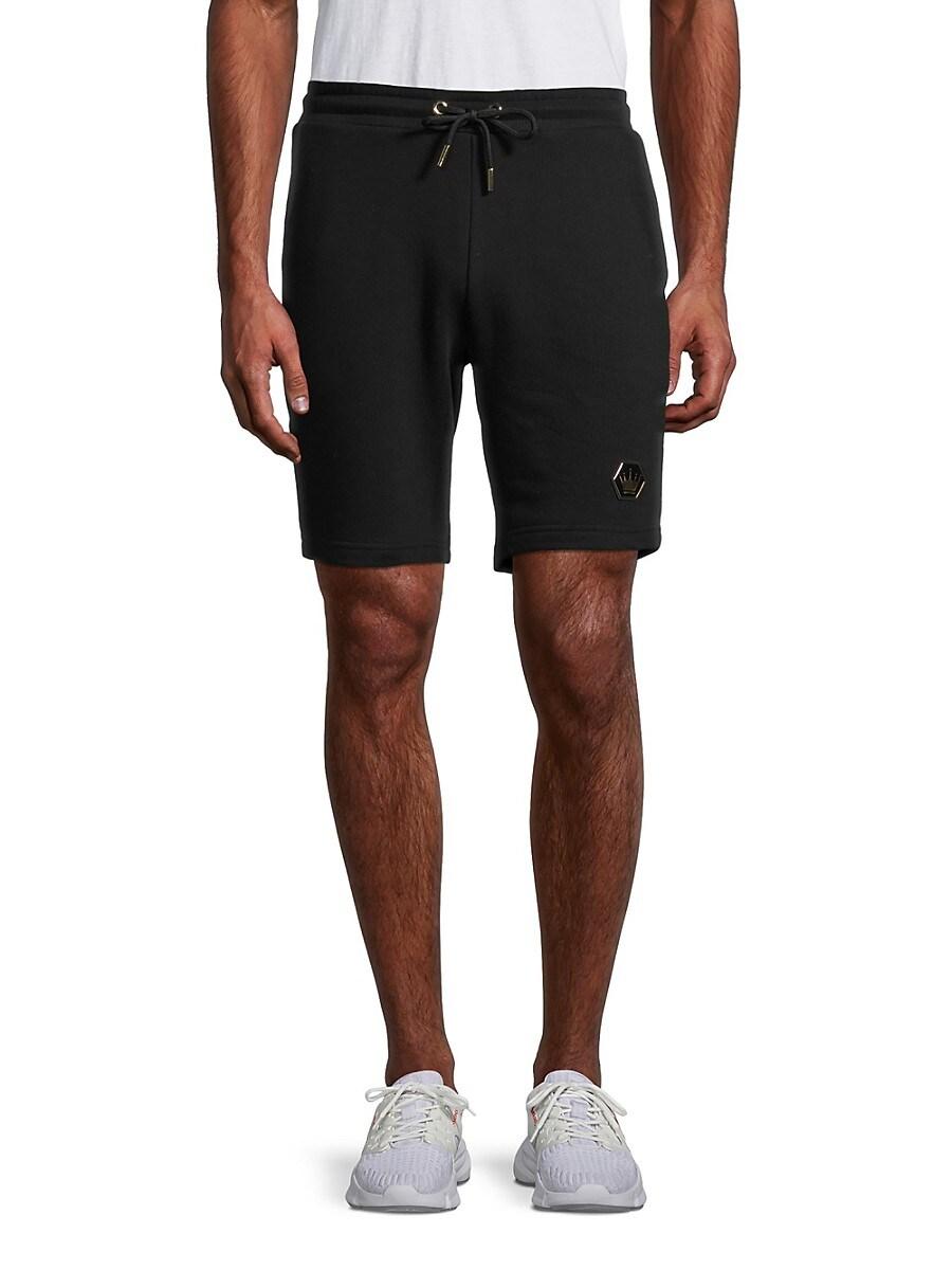 Men's Cotton-Blend Drawstring Shorts