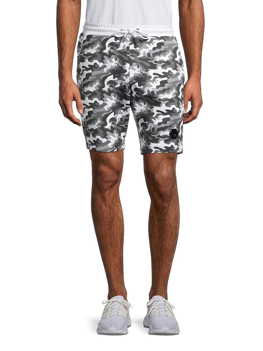 Men's Camo Drawstring Shorts