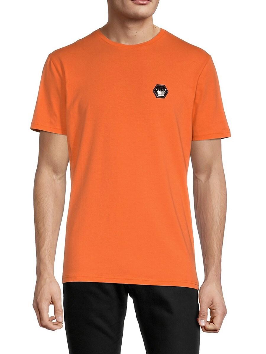 Men's Cotton-Blend Logo Tee