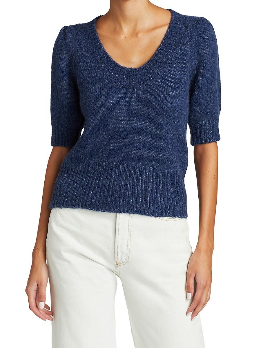 Women's Sam Puff-Sleeve Knit Sweater