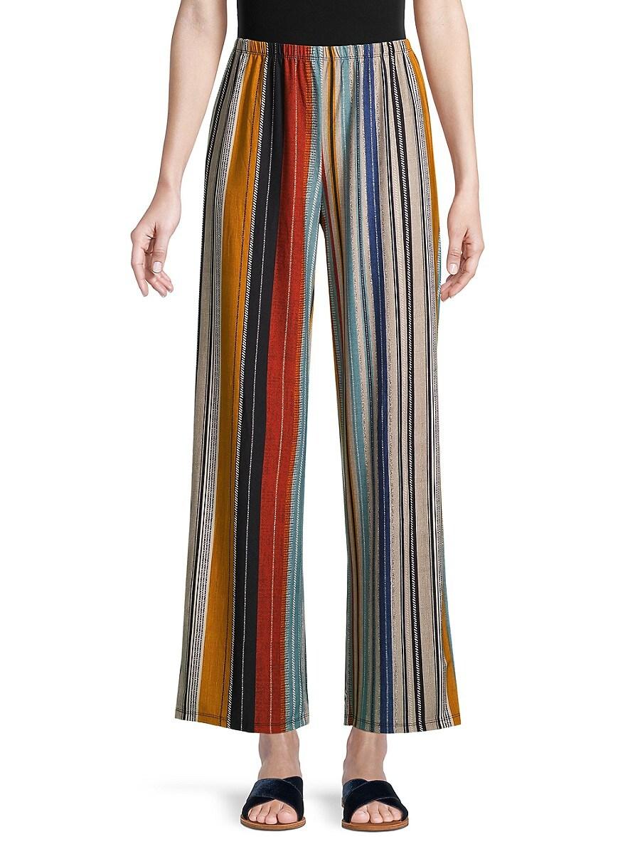 Women's Striped Knit Pants