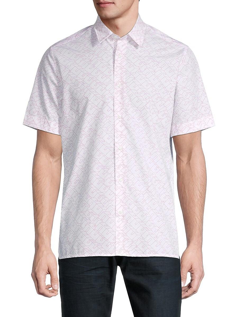 Men's Short-Sleeve Print Shirt