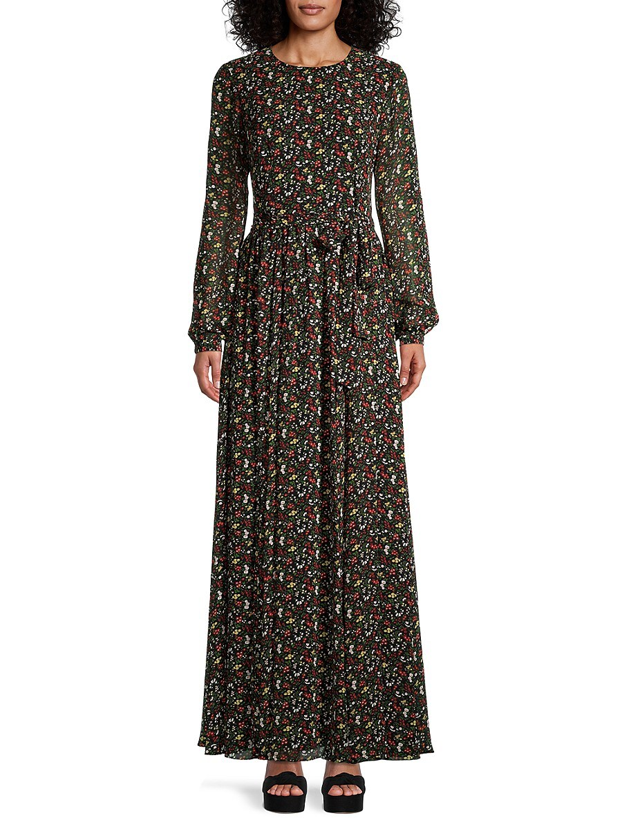 Women's Floral Maxi Dress
