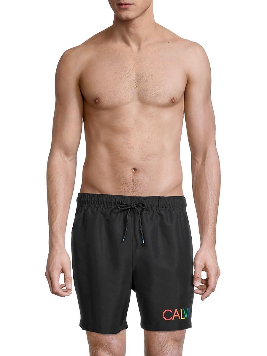 Men's Euro Volley Logo Swim Shorts