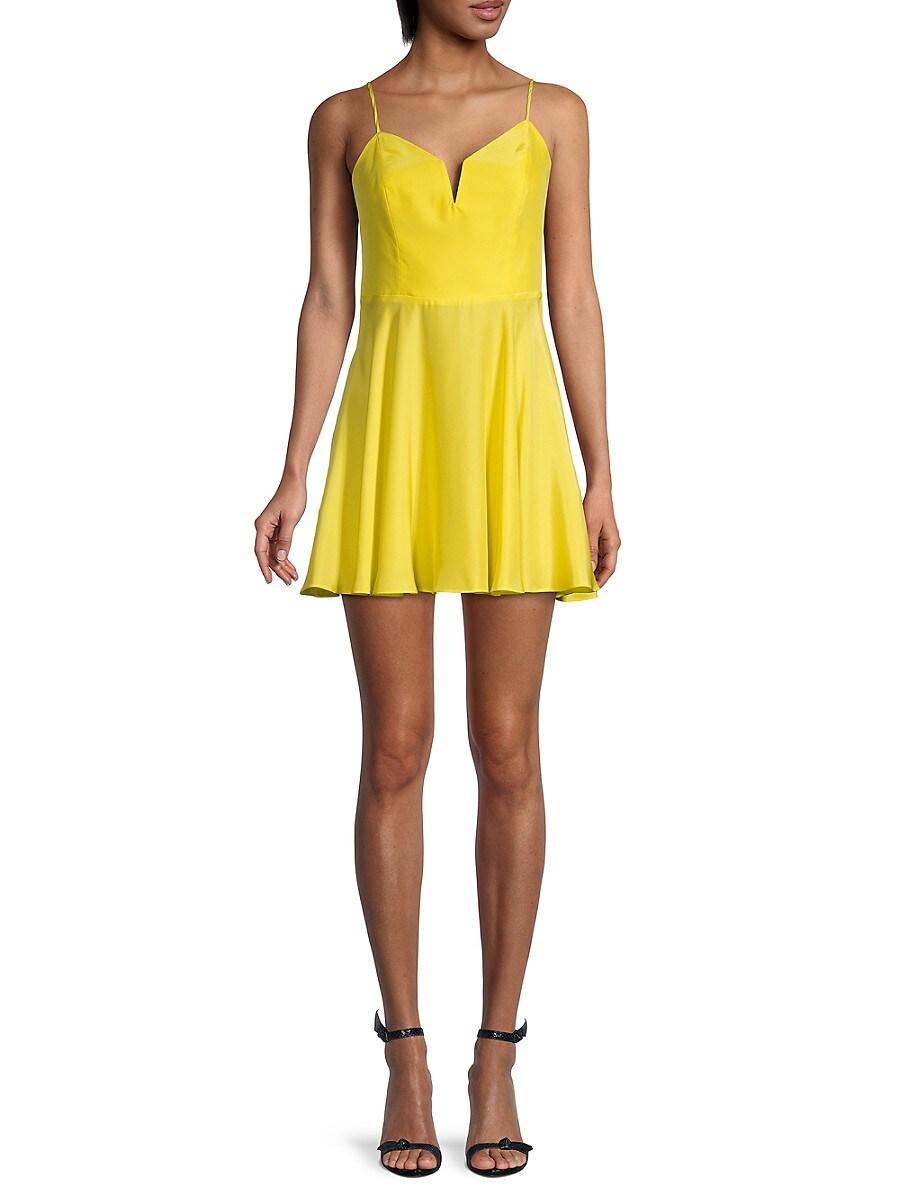 Women's Clement Silk Mini Dress