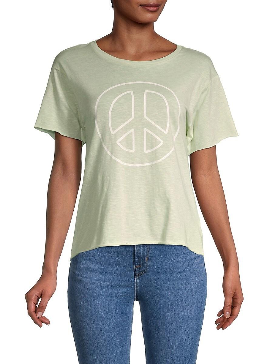 Women's Peace Graphic T-Shirt