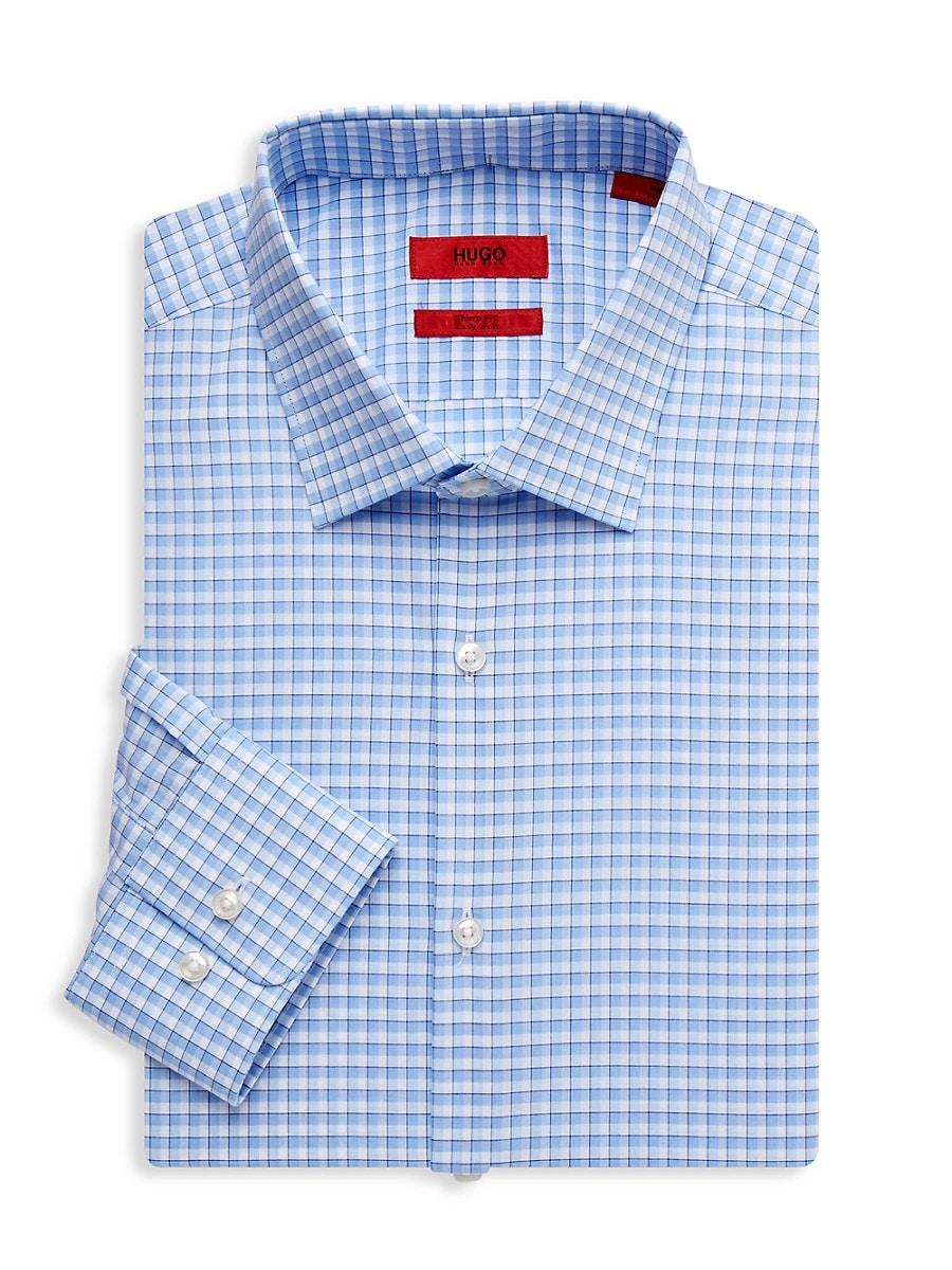 Men's Mabel Sharp-Fit Check Dress Shirt