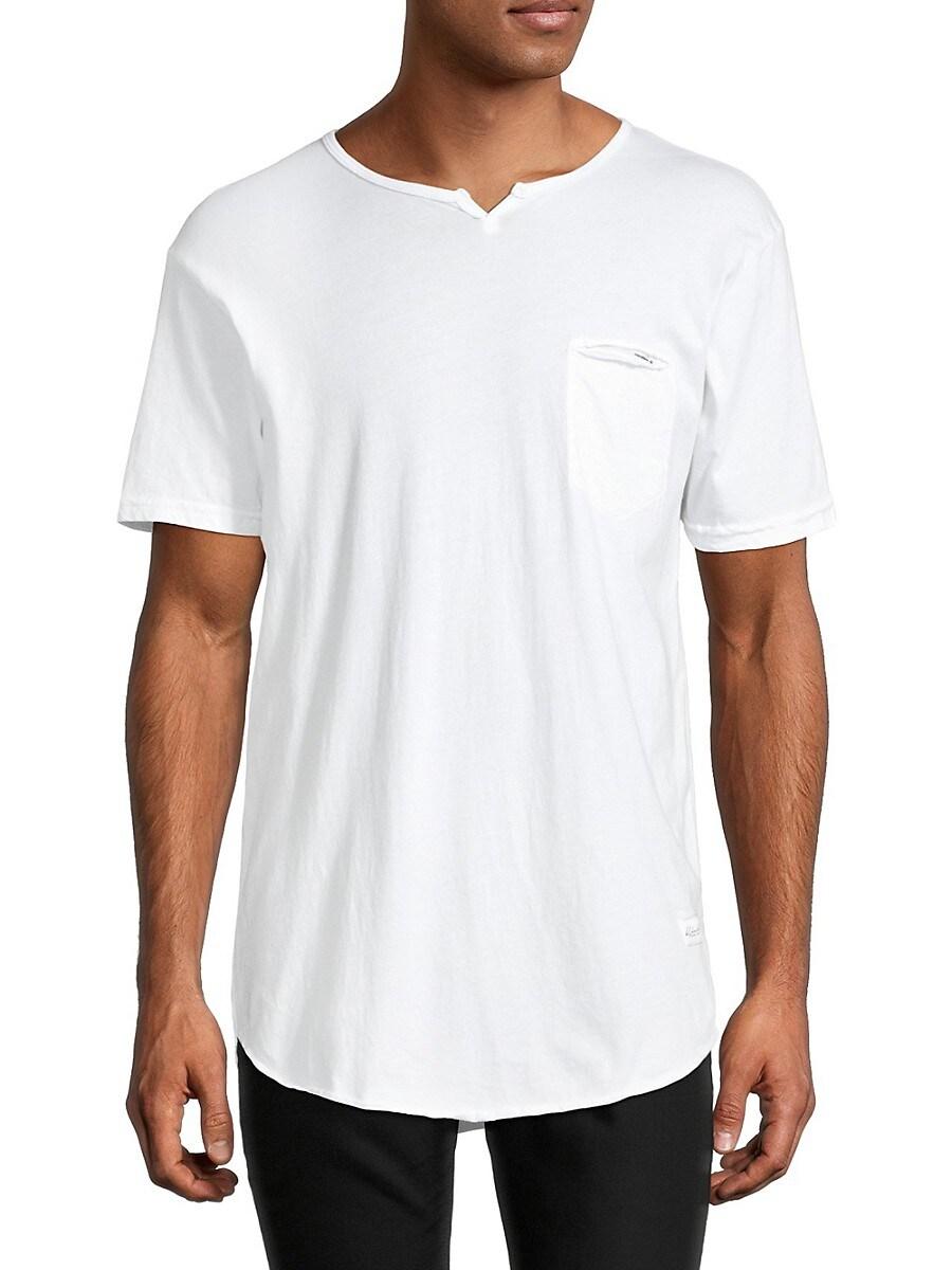Men's Eldoris Notched Crewneck T-Shirt