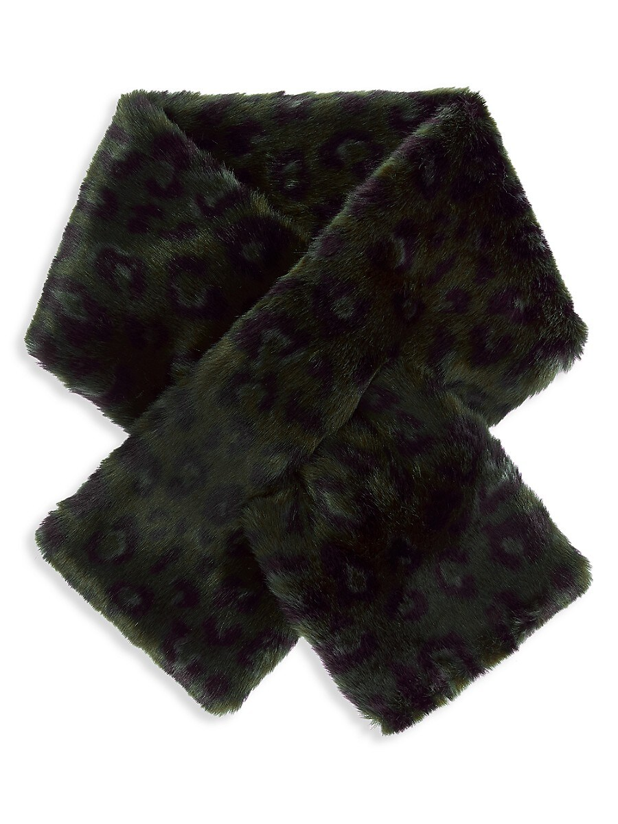 Women's Clara Faux-Fur Pull-Through Scarf