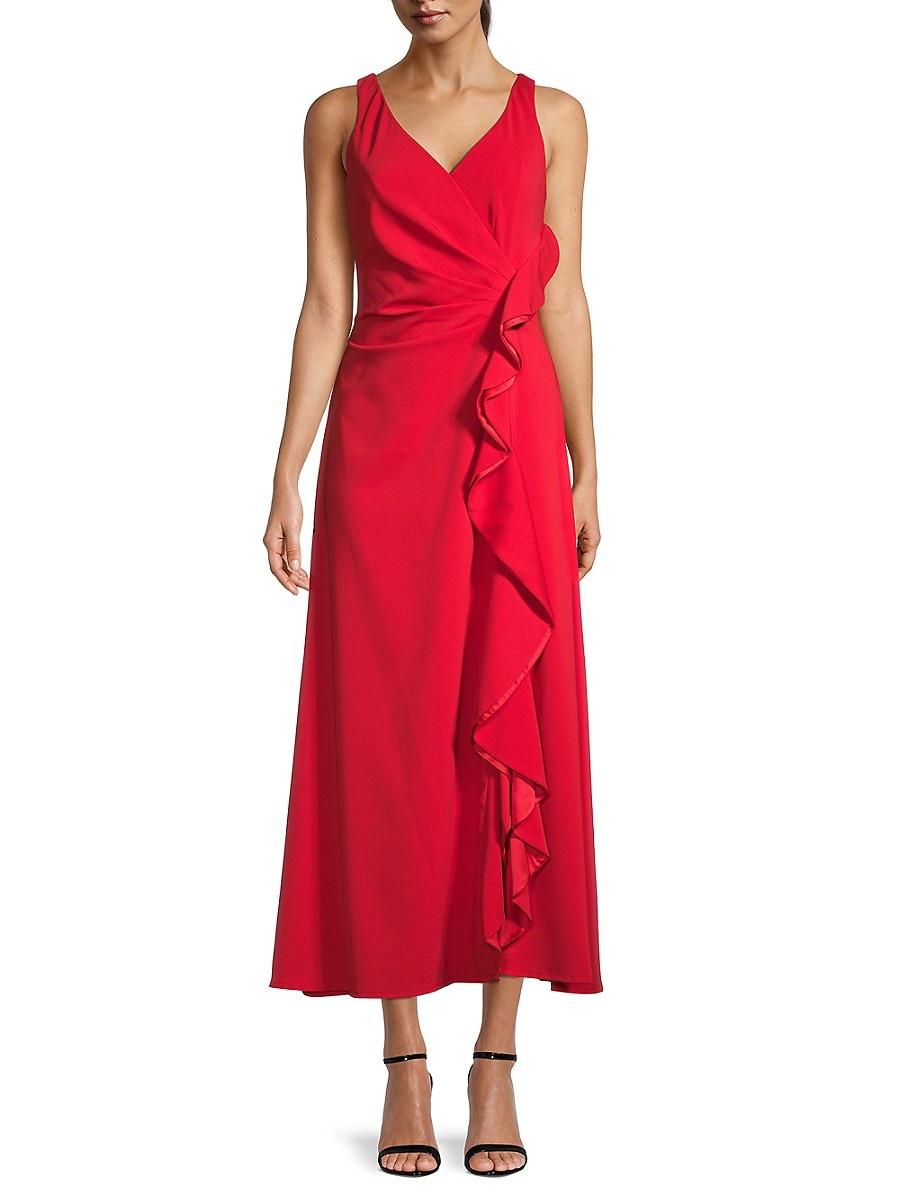 Women's Ruffle A-Line Dress