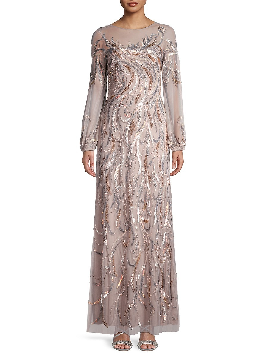 Women's Sequin-Embellished Gown