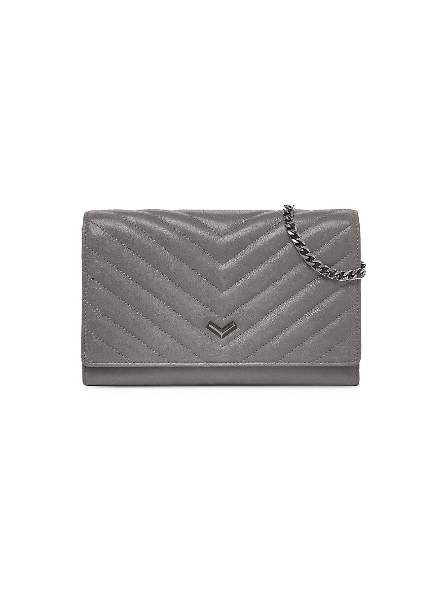 Women's Soho Quilted Leather Chain Wallet
