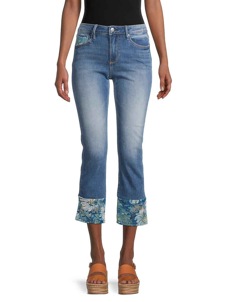 Women's Colette Straight Cropped Jeans