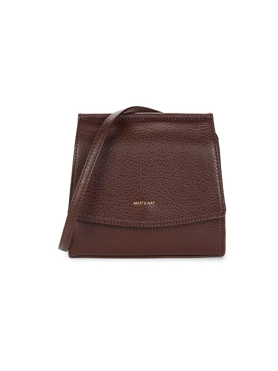 Women's Erika Vegan Leather Crossbody Bag